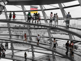BORTOLUZZI Claude - Expo 2018 - Projection 3 - Coupole du Reichstag (Berlin)