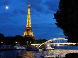 HOELLINGER Chloé - Expo 2018 - Projection 1 - Heure bleue sur la tour d'or