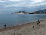 BAUER Jean-Maurice - Expo 2017 - Projection 5 - Promenade matinale en bord de mer (Corse)