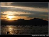 BAUER Jean-Maurice - Expo 2018 - Papier 2 - Coucher de soleil en bord de mer