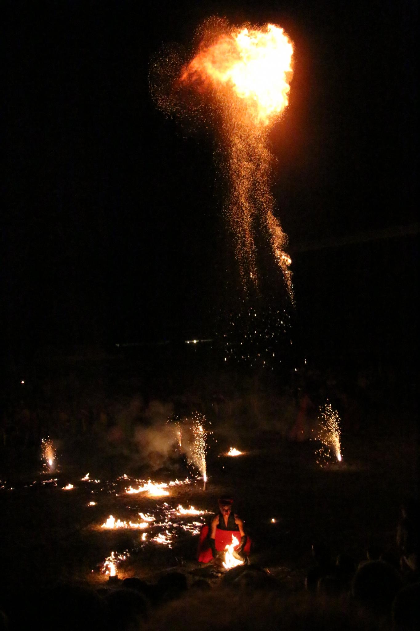 BORTOLUZZI Claude - Expo 2017 - Papier 1 - Allumez le feu