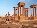 GROSS Étienne - Expo 2017 - Papier 5 - Tétrapylône Palmyre (Syrie)