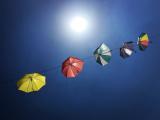 HERRMANN Sébastien - Expo 2017 - Projection 4 - Parapluies au vent