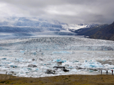 HOELLINGER Sabine - Expo 2017 - Papier 2 - Fjallsárlón, lac proglaciaire Vatnajökull (Islande)