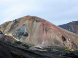 HOELLINGER Sabine - Expo 2017 - Papier 4 - La palette des couleurs du Landmannalaugar (Islande)