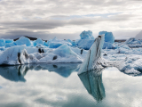 HOELLINGER Sabine - Expo 2017 - Papier 5 - Les icebergs de Jökulsárlón (Islande)