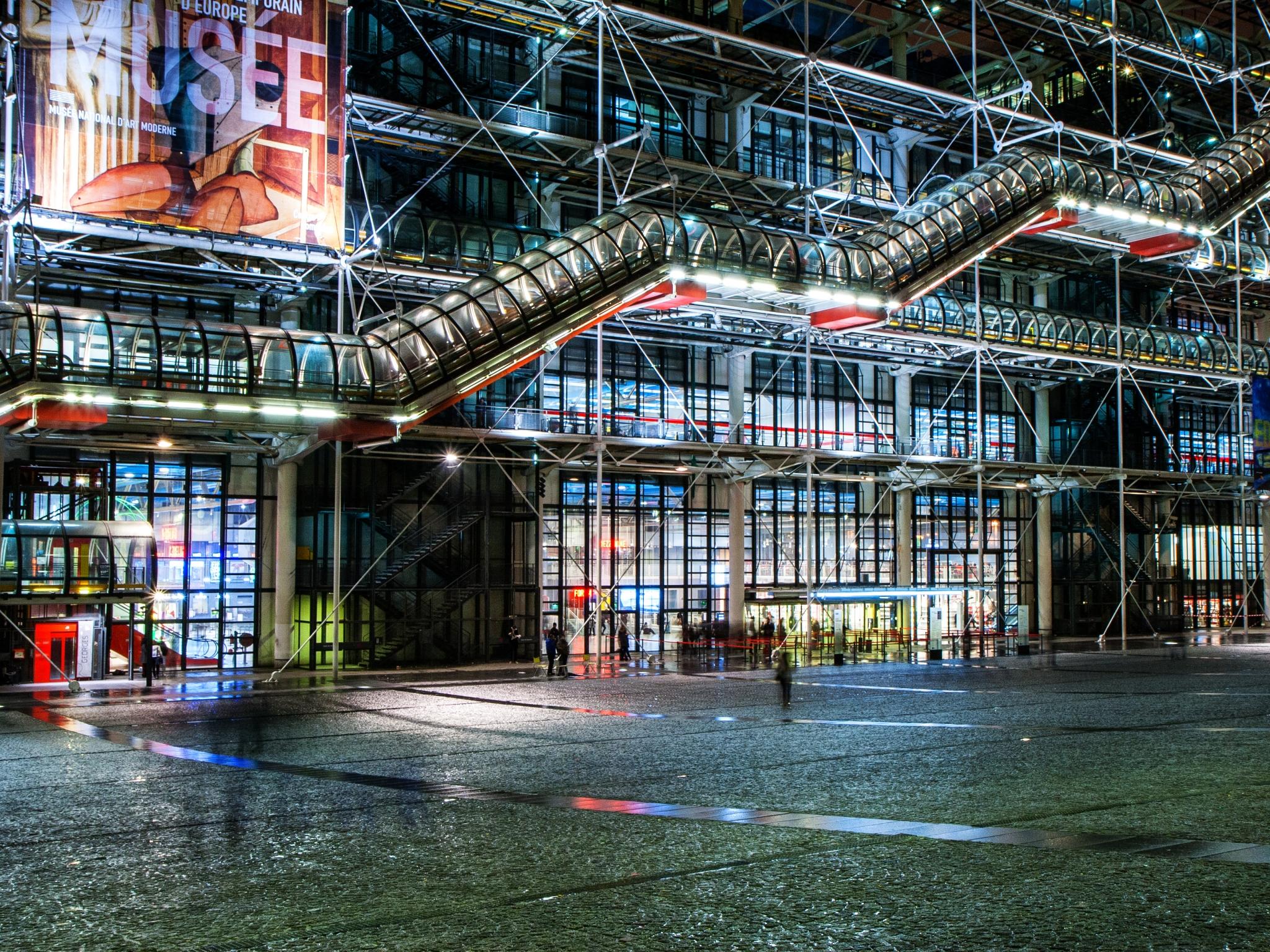 MARSALA Jean-Marc - Expo 2018 - Projection 5 - Raffinerie parisienne