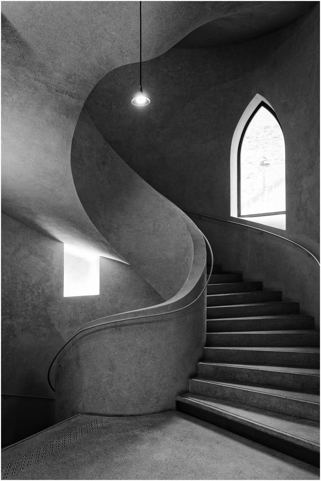 085 Ott Gilbert - Arabesques d'escalier