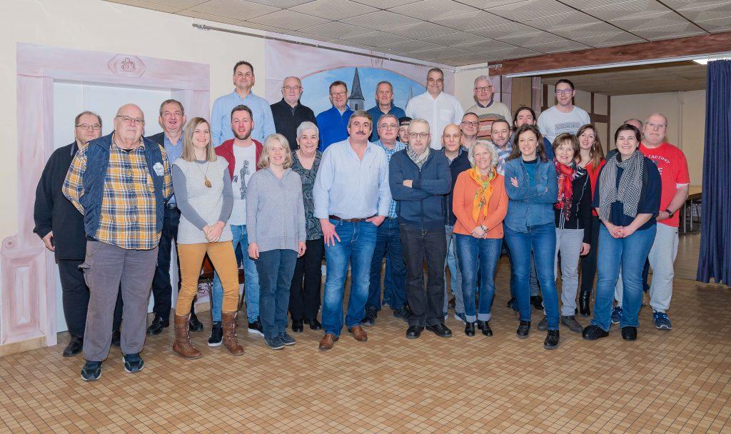Photo de groupe - PCO 2020